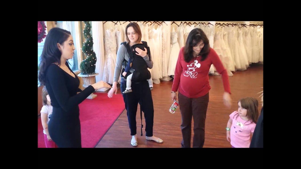 Lexi and Sasha shopping for wedding dresses in Panache Bridal ...