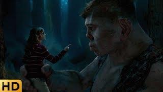 Хагрид просит присмотреть за своим братом-великаном. Гарри Поттер и Орден Феникса.