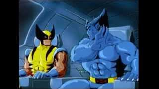 Wolverine and the X-Men try to stop the Iceman. http://en.wikipedia...