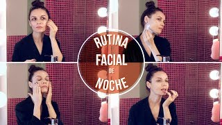 Mi RUTINA FACIAL DE NOCHE: hidratación y limpieza | My NIGHT SKINCARE ROUTINE