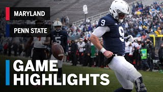 Highlights: Maryland Terrapins at Penn State Nittany Lions | Big Ten Football