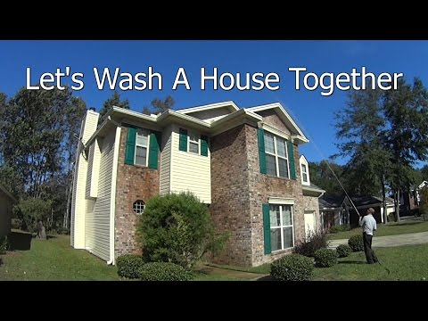 2 Story House Wash - Important Pressure Wash Business Info