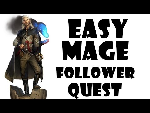 Skyrim How to get Magic Resistance Enchantment & Mage Follower