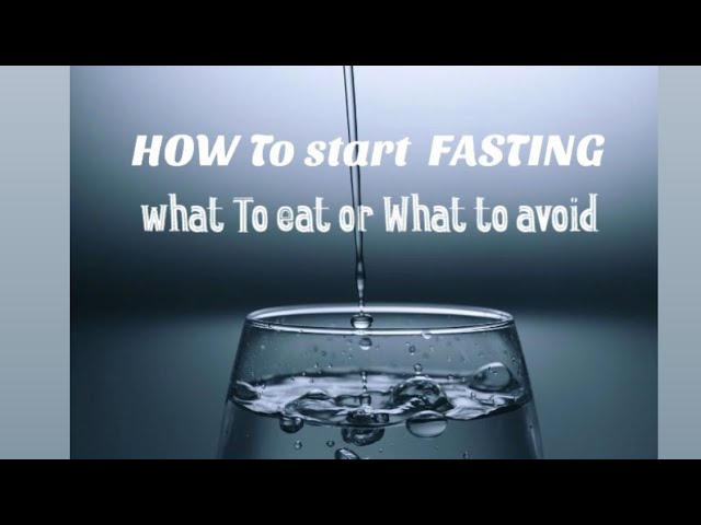 HOW TO START FASTING RIGHT WAY (WEIGHT LOSS MUSCLE BUILD)