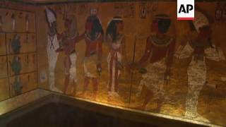 Egypt: high chance of hidden rooms in Tut tomb