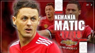 Nemanja Matic - Interceptions, Passes, Complete Skills - 2018 HD