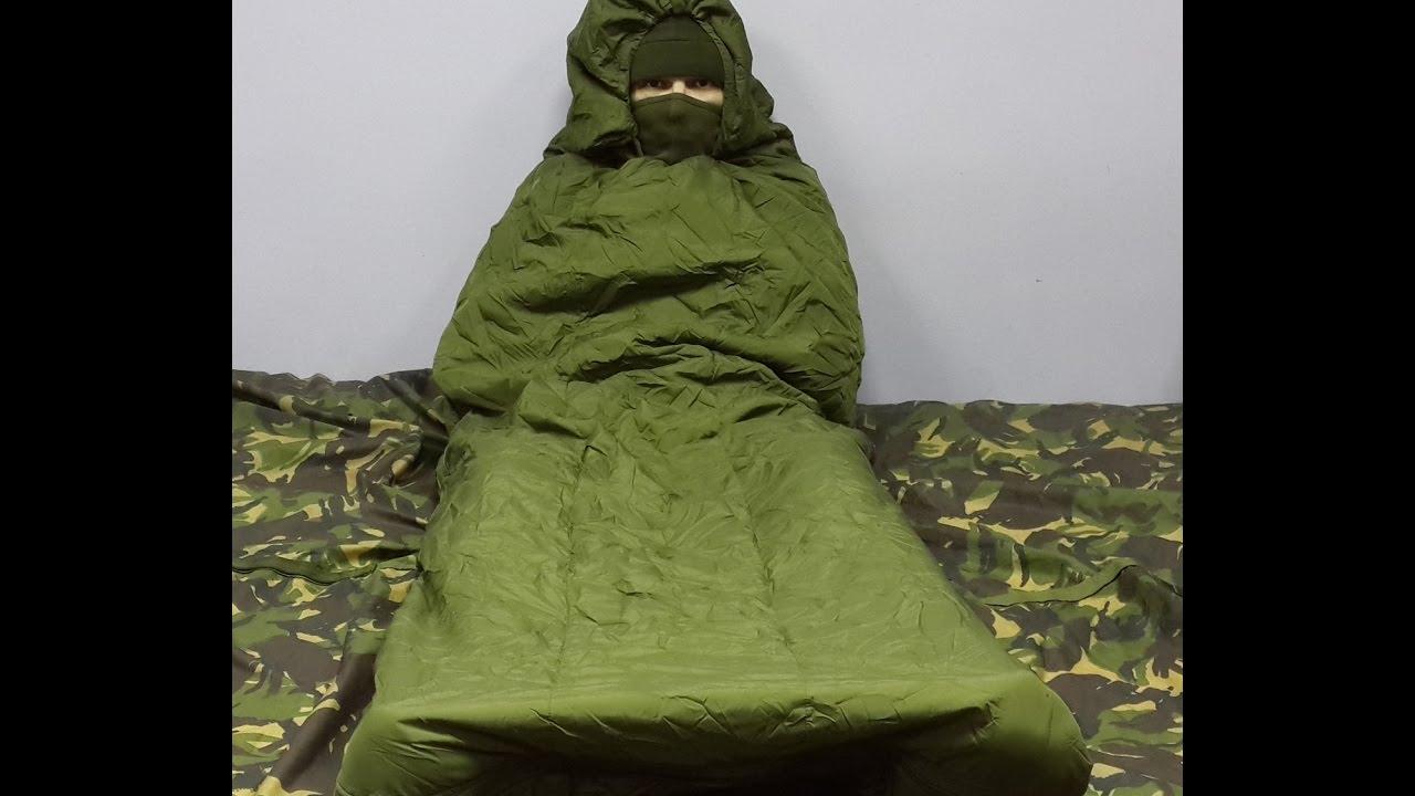 Спальный мещок снайпера армии Бундесвер - YouTube