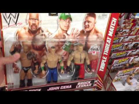 WWE ACTION INSIDER: Kmart And ToysRus Wrestling Figures Store Aisle Mattel Elites Basics Shopping