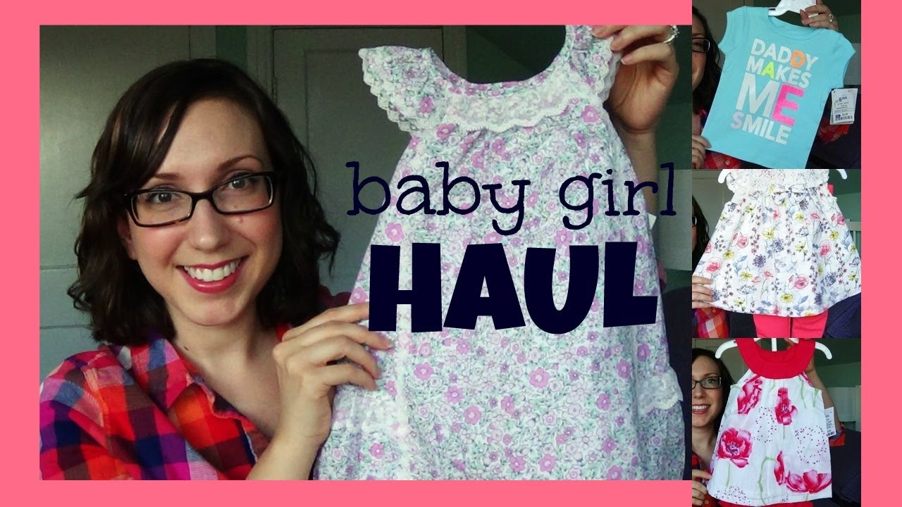 10ebbfa8cab Ross   Marshall s Haul! ♥ Baby Girl Spring Summer Clothes - YouTube