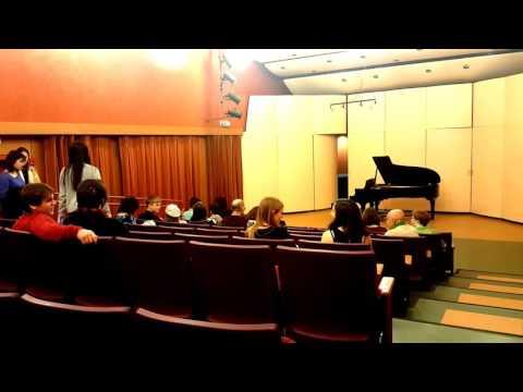 Hartt School 2016 Hammerklavier recital