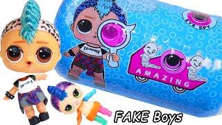 LOL OMG Makeover DIY Custom Fake Lils House OMG Boy