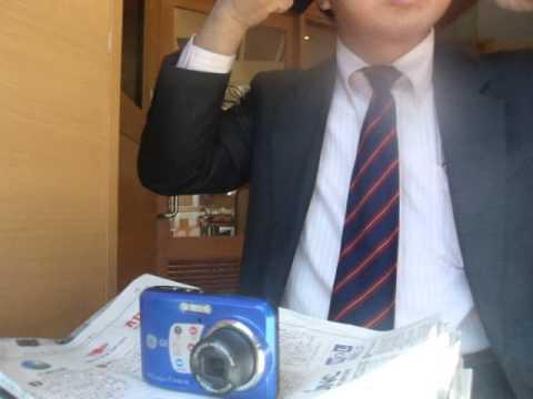 GEDC3328 2015.05.21 nikkei shibunn at ikebukuro sanshain street  lotteria with bunka housou radio.