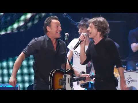The Rolling Stones & Bruce Springsteen - Tumbling Dice (Proshot)