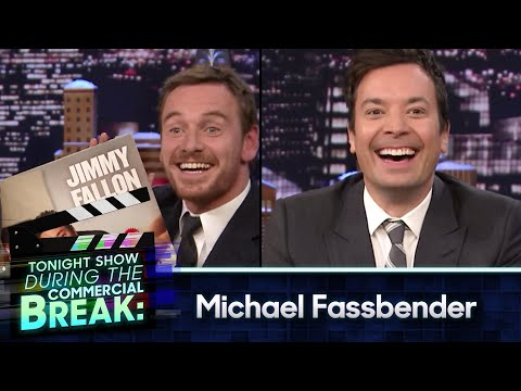 During Commercial Break: Michael Fassbender