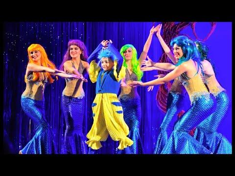 Mermaid - Michael as Flounder singing She's in Love