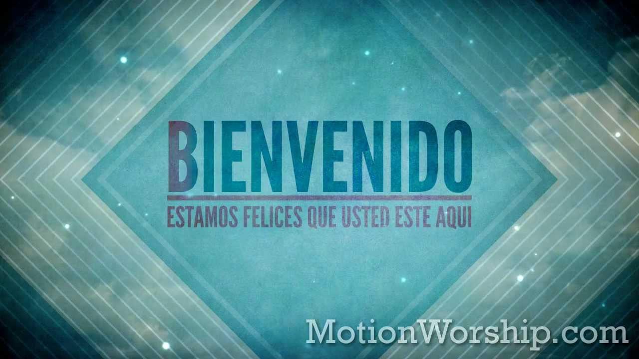 Grunge Nubes Bienvenido HD Loop by Motion Worship