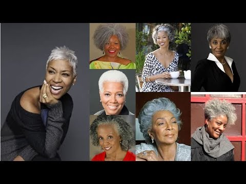 Short Haircut Images For Black Older Women Over 50 To 60 & Trend Short Hair Ideas 2018