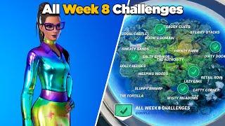 Fortnite All Week 8 Challenges Guide (Fortnite Chapter 2 Season 4)