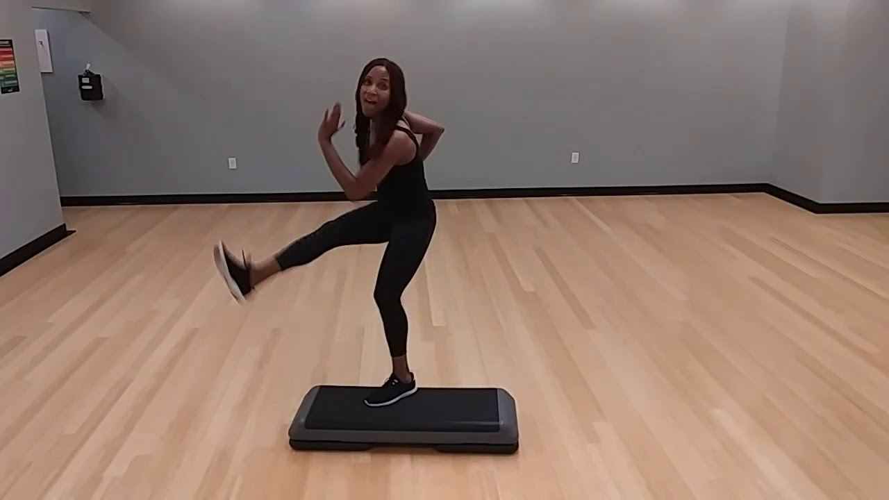 20 Minute Intermediate-advanced Cardio Step Workout