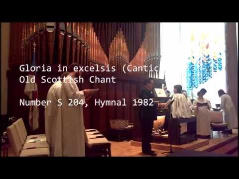 Gloria in Excelsis Canticle 6 set to Old Scottish Chant
