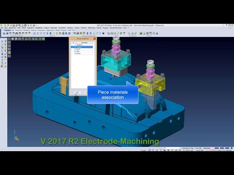 VISI 2017 R2 - Electrode Machining process