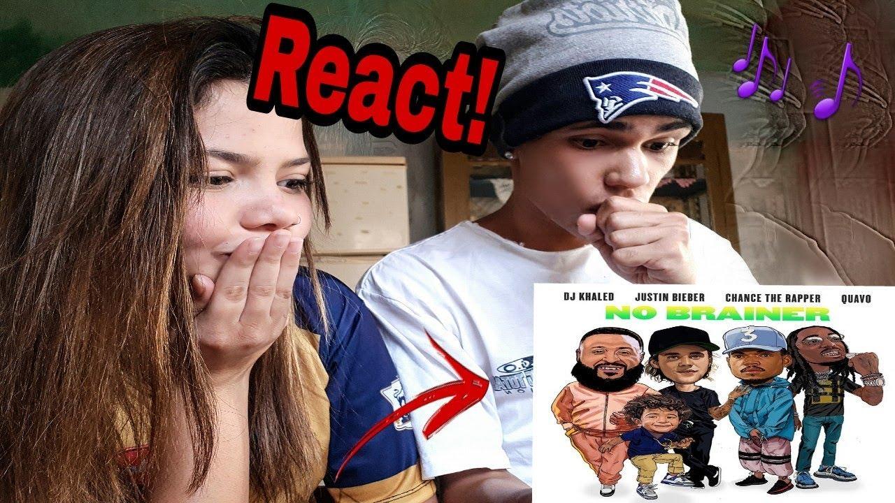 Dj Khaled No Brainer Official Video Ft Justin Bieber Chance The Rapper Quavo React