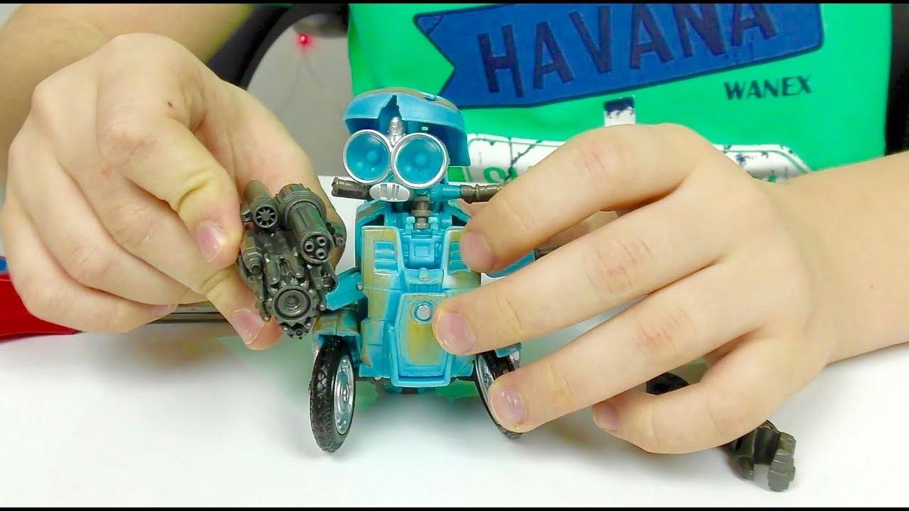 Трансформеры Автоботы Игрушки Машинки для мальчиков Детское видео Из Мультика Transformers
