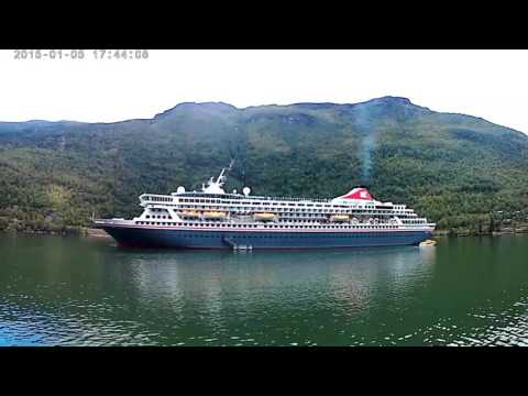 Cruise from Gudvangen to Flåm, Norway