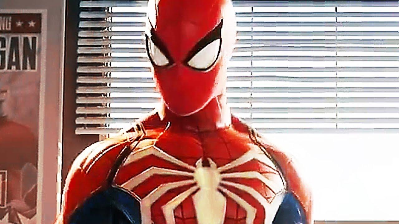 Spider man ps4 new trailer 2018 psx 2017 youtube - Les jeux de spiderman 4 ...