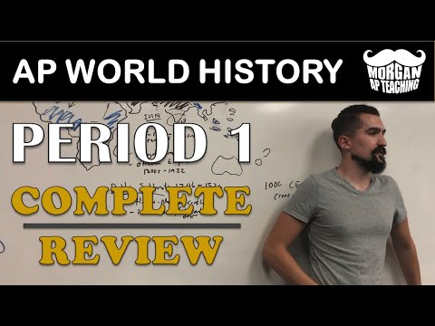 COMPLETE REVIEW - AP World History Modern - Period 1 (1200-1450) with Timestamps