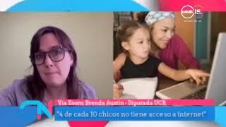 Brenda Austin: Piden la emergencia educativa
