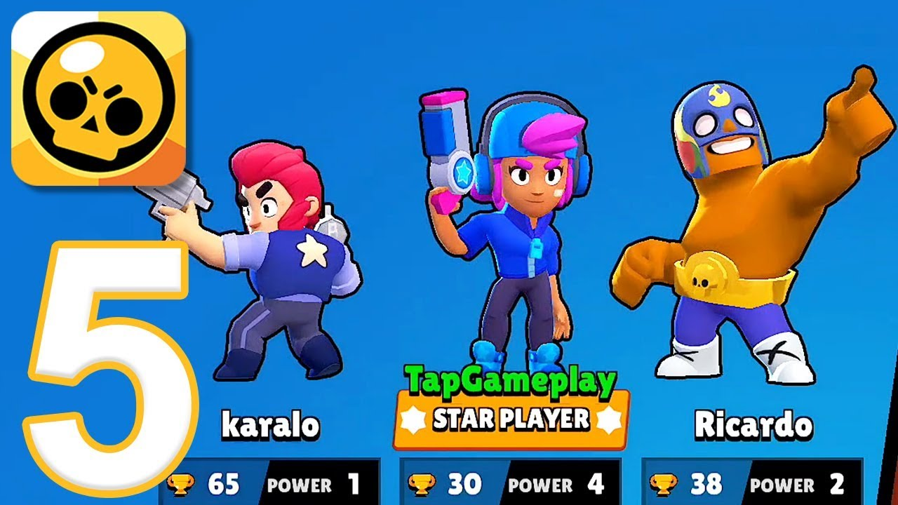 Brawl Stars Gameplay Walkthrough Part 5 Star Shelly