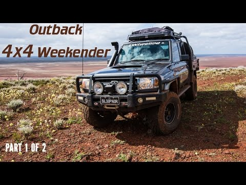 Outback 4x4 Weekender, part 1