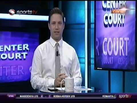 Sports TV / Center Court / Röportajı