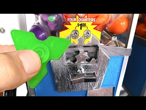 Thumbnail: Found a Fidget Spinner Vending Machine!