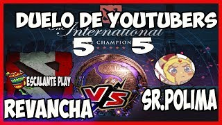 #suscribete #Dalelike REMATCH  SR POLIMA VS ESCALANTE PLAY GOOOOOO 5 VS 5 DOTA 2
