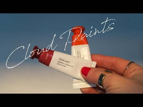 Glossier Cloud Paint Review | Swatches + New Colors Storm & Dawn