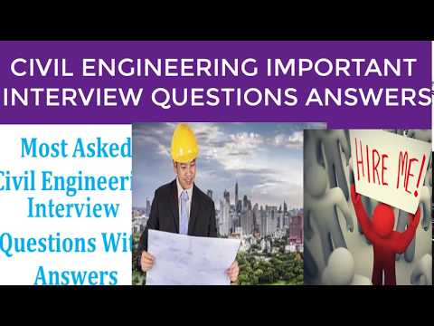 Site Engineer Interview Questions   Civil Engineering Questions and Answers   Part-1
