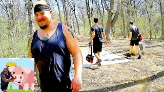 One - Funny Disc Golf Beginner's Guide Vlog with Fails