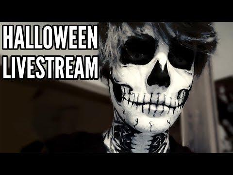 Getting ready for Halloween!【LAOWEEN LIVESTREAM】 - Cмотреть видео онлайн с youtube, скачать бесплатно с ютуба