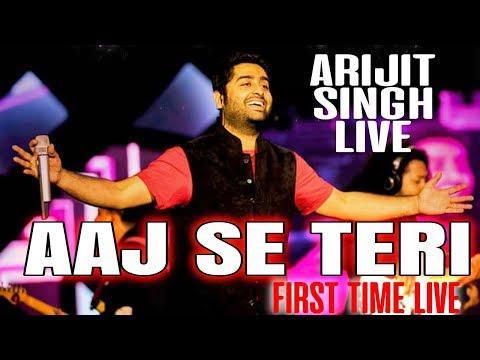 Aaj se teri LIVE Full HD - Arijit Singh Live in concert - Mtv india tour - Padman
