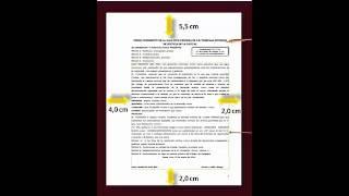 EL MEMORIAL  DOCUMENTO (CONCEPTO Y PARTES)