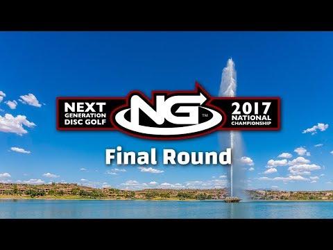 Next Generation Disc Golf 2017 National Championships - Final Round
