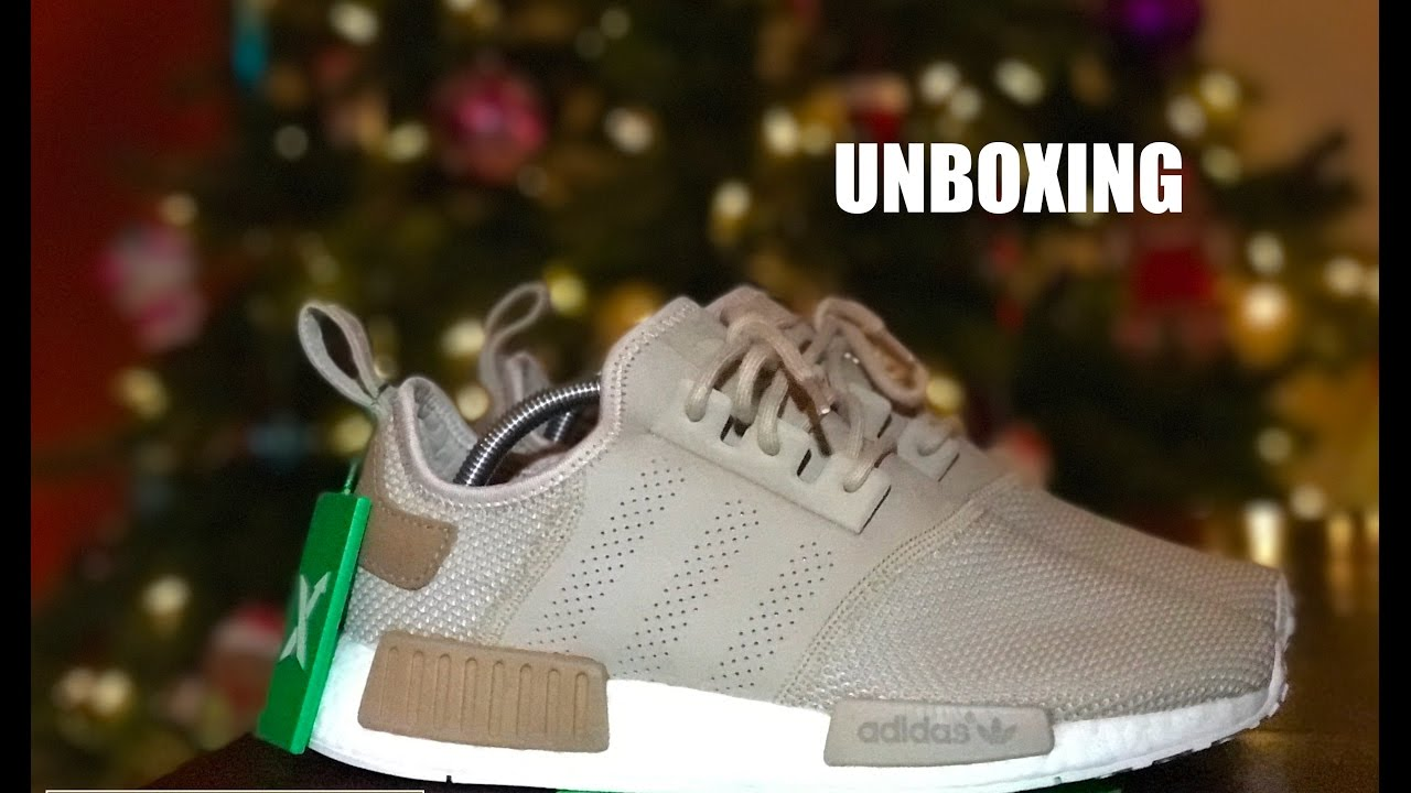 4554d1f9 Adidas NMD R1Offspring Tan Unboxing (STOCK X) - YouTube
