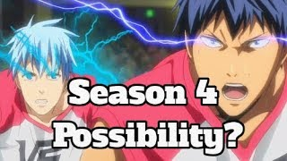 Kuroko's Basketball SEASON 4 - Is It Even Possible At This Point???