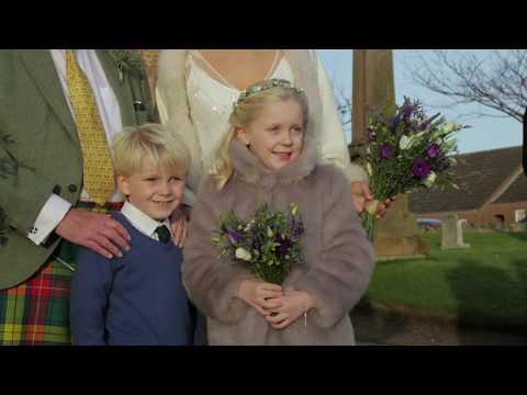 Ellie Parish Church wedding video - Gemma & James - Butterfly Films
