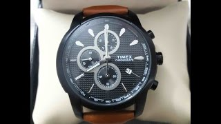 Timex E-Class Men's Watch - Unboxing and Review