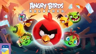 Angry Birds Reloaded: Apple Arcade iOS Gameplay Walkthrough Part 1 (by Rovio)