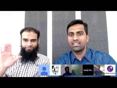 गूगल द्वारा हिंदी वेबमास्टर्स के लिये Hangouts ऑन एयर (फ़रवरी '18)