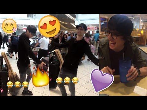 Erick bailando despacito en chanclas 😂y se pelea con Christopher